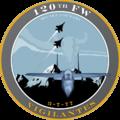 120th Fighter Wing - 2008 unit emblem.png