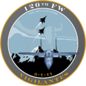 120th Fighter Wing - 2008 unit emblem.png