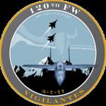 120th Fighter Wing - 2008 unit emblem