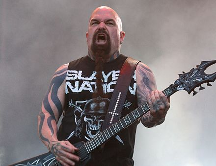 Guitarist Kerry King was one of the two constant members of Slayer.