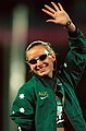 141100 - Athletics track Meaghan Starr waves - 3b - 2000 Sydney race photo.jpg