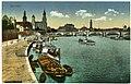 14237-Dresden-1912-Blick auf die Dampferanlegestelle, Augustusbrücke-Brück & Sohn Kunstverlag.jpg