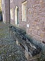 15th century timbers from the Exe Bridge Tiverton - geograph.org.uk - 2660017.jpg