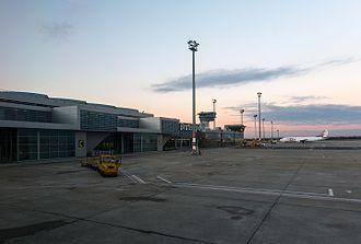 Bratislava Airport - Apron view