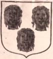 1697 Armes de Bonnechose déposées Hozier - détail.png