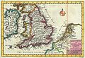 1747 La Feuille Map of England - Geographicus - England-ratelband-1747.jpg