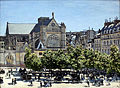 1867 Monet Saint-Germain-l'Auxerrois in Paris anagoria.JPG