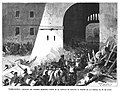 1875-07-08, La Ilustración Española y Americana, Entrada del general Martínez Campos en el castillo de Miravet al frente de las tropas, el 24 de junio.jpg