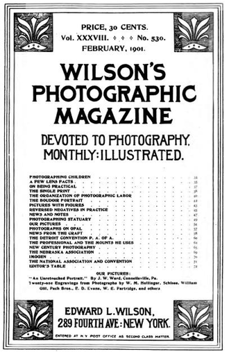 Wilson's Photographic Magazine - Wilson's Photographic Magazine, 1901