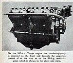 1909 De Dion-Bouton 100 HP V-8 cylinder engine, side view.jpg
