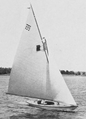 6 Metre - French Mac Miche – gold medalist at the 1912 Summer Olympics in Stockholm.