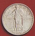1916 Standing Liberty quarter obverse.jpg