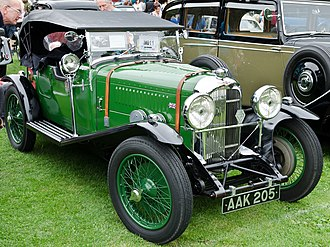 Lagonda Rapier - 4-seater tourer body, 1935