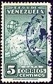 1938 5c Venezuela Mi232 Yv200.jpg