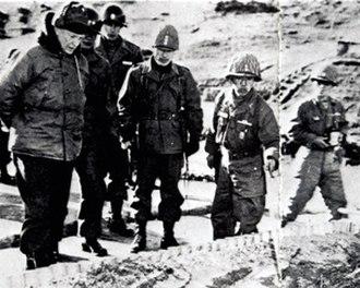 Paik Sun-yup - Image: 1951 Chung Baik Eisenhower
