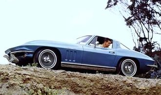 Chevrolet Corvette - 1965 Corvette Sting Ray coupe