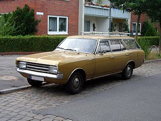 Opel Rekord Series C - Opel Rekord C 5-door Kombi (estate/station wagon).