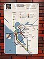 1981 Regional Transit Connection map in 12th Street station.JPG