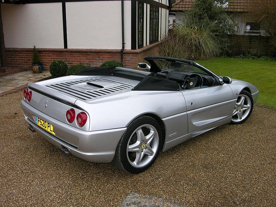 1997 Ferrari F355 Spider - Flickr - The Car Spy (3)
