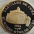 1 песо. Куба. 1984. Крепости - Кастильо-де-Сан-Педро-де-ла-Рока.jpg