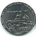 1 песо. Куба. 2001. 40 лет сражению при Плайя-Хирон.jpg