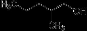 Hexanol - Image: 2 methyl 1 pentanol