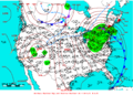2005-04-24 Surface Weather Map NOAA.png