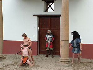 2005-08 Archeon gladiatoren dood.JPG