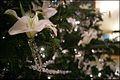 2005 Blue Room Christmas tree - glass lily ornament.jpg