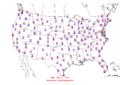 2006-07-05 Max-min Temperature Map NOAA.png