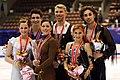 2007 NHK Trophy Ice Dancing Podium.jpg
