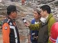 2008년 중앙119구조단 중국 쓰촨성 대지진 국제 출동(四川省 大地震, 사천성 대지진) IMG 6008.JPG