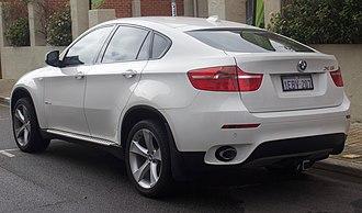 BMW X6 - BMW X6 xDrive35d (Pre-facelift)