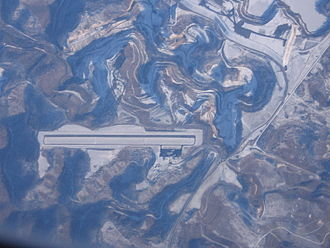 Big Sandy Regional Airport - K22 aerial photo January 21, 2009