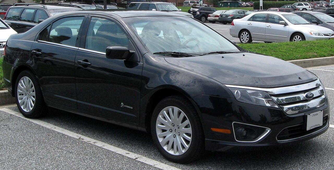 Ford Fusion Wiki >> File:2010 Ford Fusion Hybrid -- 08-16-2010.jpg - Wikimedia ...