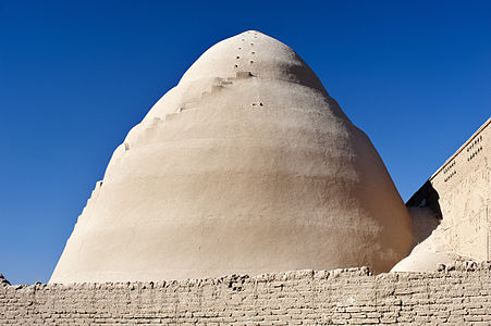 Ice house in Meybod, Yazd province, Iran