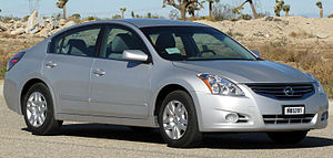 2011 Nissan Altima photographed in USA. Catego...