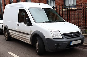 Ford Cargo Van Conversion >> Ford Transit Connect - Wikipedia