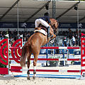 2013 Longines Global Champions - Lausanne - 14-09-2013 - Laura Sarah de Gunzburg et Ganjana 2 3.jpg