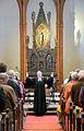 2014-04-18 Apostelkirche Hannover, Karfreitag-Gottesdienst, (025) Pastorin Katrin Woitak bei der Sendung Segen für die Gemeinde.jpg