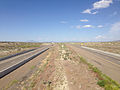 2014-06-10 16 26 44 View east along Interstate 80 from the Exit 333 overpass in Deeth, Nevada.JPG