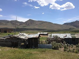 Charleston, Nevada - Image: 2014 06 24 11 38 46 Abandoned buildings in Charleston, Nevada