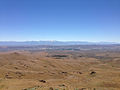 2014-06-28 12 03 23 View of Elko, Nevada from the summit of West Twin in the Adobe Range.JPG