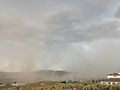 2014-07-20 15 00 01 Blowing dust along the outflow boundary of a thunderstorm in Elko, Nevada.JPG
