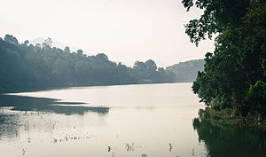 Bhimtal Lake - Water spread of the lake