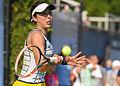 2015 US Open Tennis - Qualies - Misa Eguchi (JPN) def. Julie Coin (FRA) (20763819520).jpg