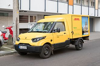 Deutsche Post - Electric StreetScooter Work as DHL Express van (2016)
