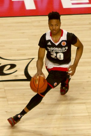 2017 NBA draft - Markelle Fultz was selected first overall by the Philadelphia 76ers via the Boston Celtics and Brooklyn Nets.