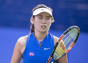 Yang Zhaoxuan - Yang at the 2016 Citi Open