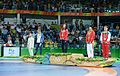 2016 Summer Olympics, Women's Freestyle Wrestling 48 kg awarding ceremony 2.jpg